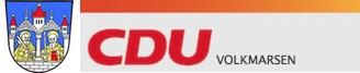 Logo von CDU Volkmarsen